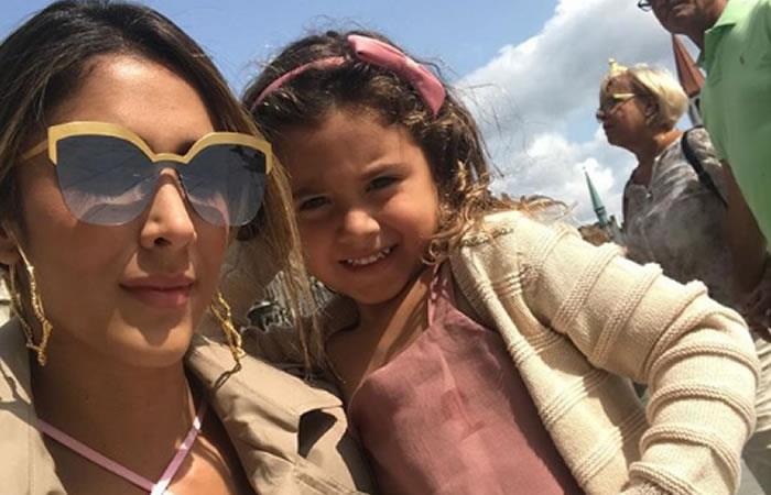 Así disfrutaron Daniela Ospina y Salomé su viaje a Islas de Rosario