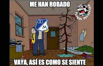 Atlético Nacional, Millonarios y Junior no se salvaron de los memes