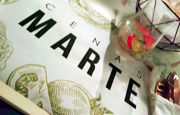 Cenas Marte: Restaurante a puerta cerrada en Bogotá