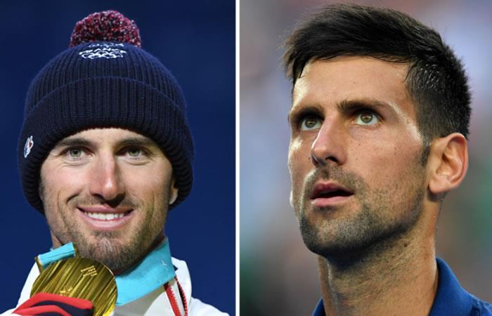 Djokovic pide una a foto Vaultier por su parecido fisico