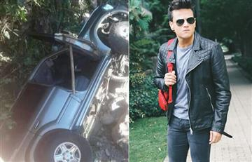 Padre de Silvestre Dangond sufrió fuerte accidente de tránsito