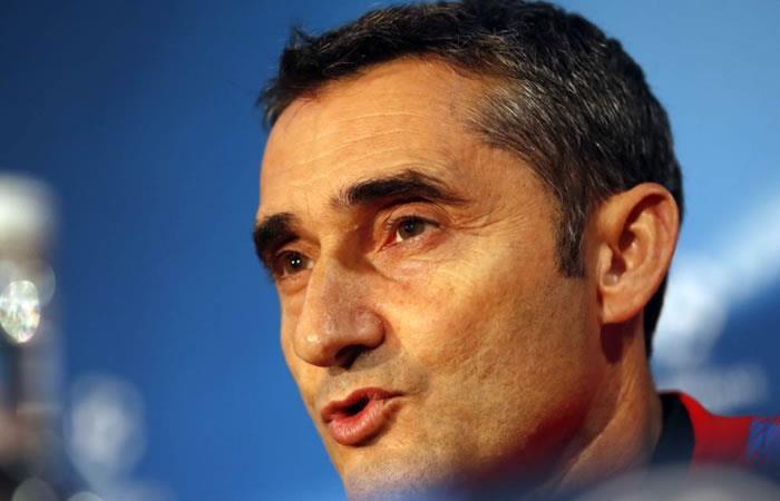Valverde asegura que Yerry Mina se ha adaptado muy al Barcelona