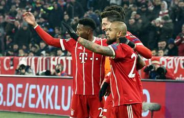 Bayern Múnich aplastó al Besiktas