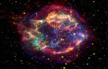 Descubren una explosión cósmica de hace 10.500 millones de años