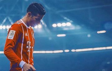 James Rodríguez sustituido en el encuentro del Bayern y preocupa a todos