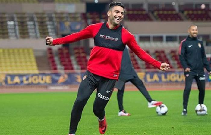 "Mónaco: ""Falcao evoluciona favorablemente y continúa su rehabilitación"""