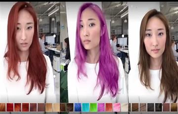 Video: Así la inteligencia artificial te permitirá encontrar tu color de pelo ideal