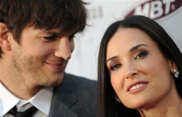 Ashton Kutcher reveló cómo superó la separación con Demi Moore