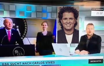 Carlos Vives y el videoalemán por el quese preguntan ¿Dónde está el artista?