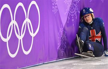 """La """"maldición"""" de Elise Christie en los Juegos olímpicos de invierno 2018"""
