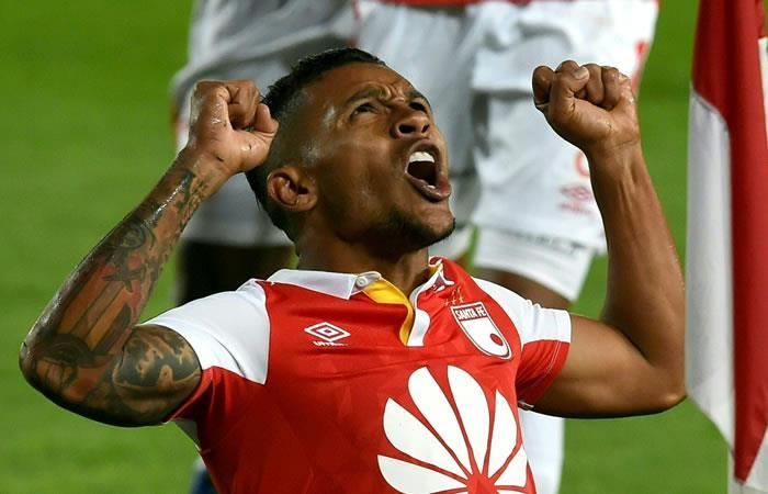 Libertadores: Santa Fe goleó a Wanderers y ratificó su paso a la fase de grupos