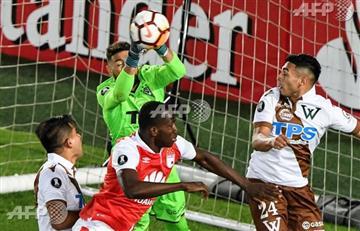 Santa Fe venció a S. Wanderers y se clasificó al grupo 4 de la Libertadores