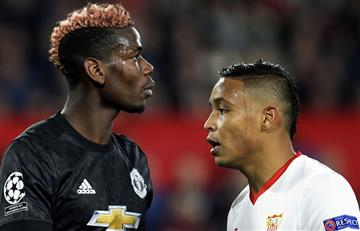 Sevilla con Muriel de titular empató con el Manchester United