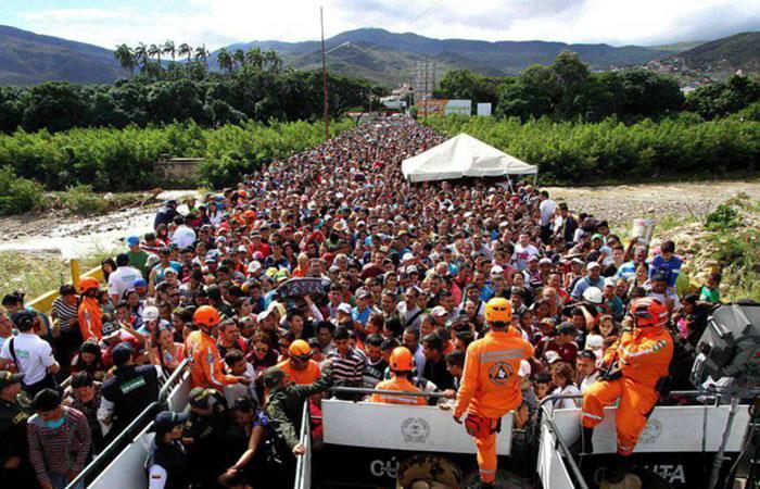 Brasil y Colombia discuten ola migratoria de venezolanos en sus fronteras