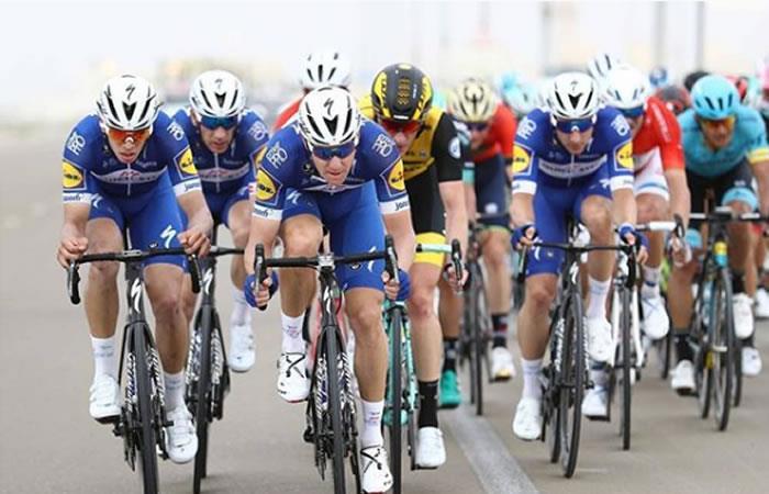 Tour de Abu Dhabi: Álvaro Hodeg es el mejor colombiano en la segunda etapa