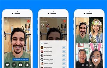 Facebook Messenger permite convertir llamadas individuales en chats grupales