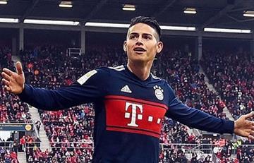 James Rodríguez no será titular ante Hertha de Berlín