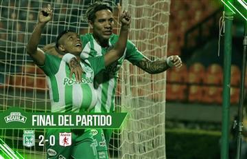 Liga Águila: Nacional se llevó el clásico ante América en Medellín