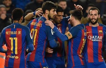 Barcelona respondió a la BBC con una goleada ante el Girona