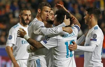 Real Madrid goleó al Alavés en el regreso de la BBC