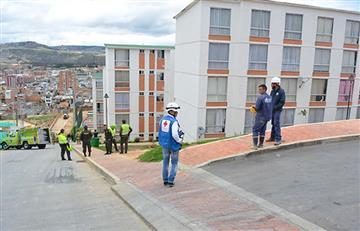 "Tunja: Ordenan demoler seis torres por ser ""un riesgo"" para sus ocupantes"