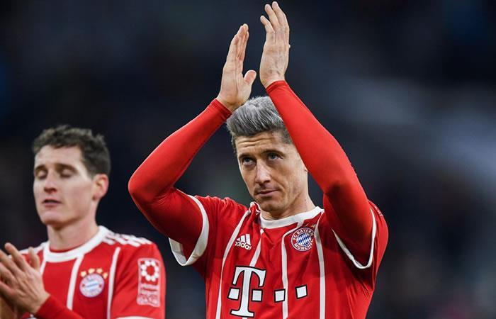 Lewandowski sigue líder de los goleadores en Alemania