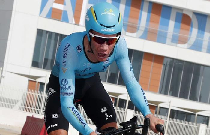 Miguel Ángel López, segundo en la Vuelta a Abu Dabi
