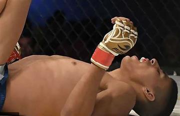 Vídeo: Así fue la fractura del luchador de MMA Irving Amaya