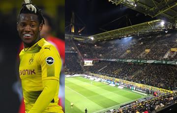Borussia Dortmund empató y no contó con el apoyo de la hinchada