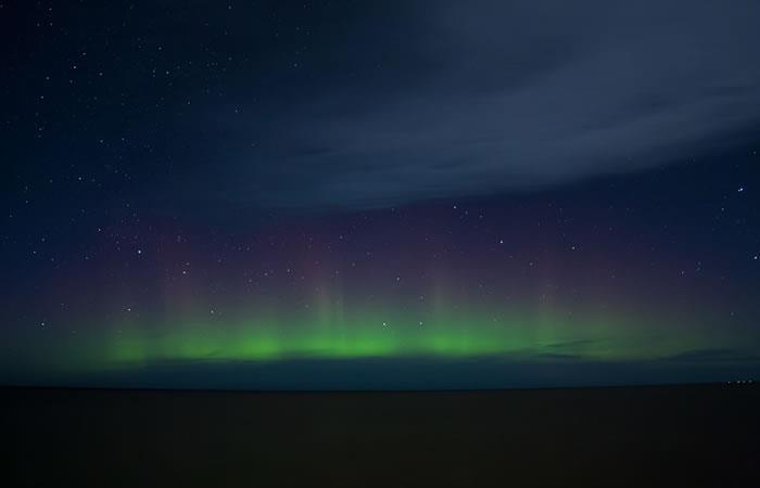Espectacular fenómeno óptico iluminó el cielo de San Petersburgo
