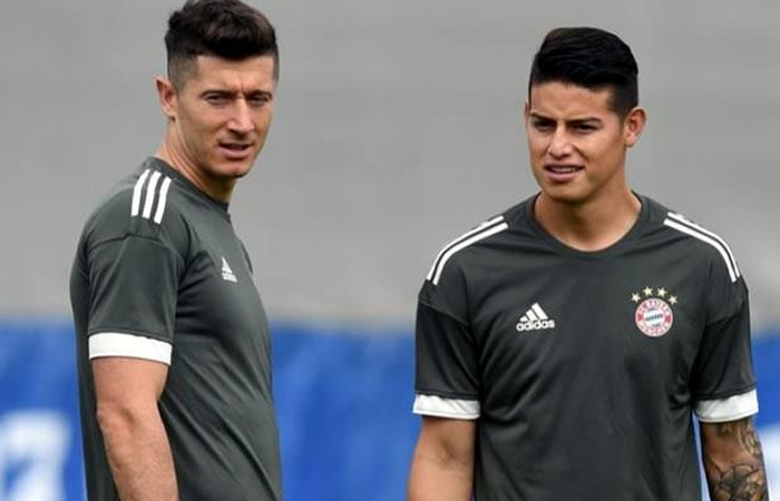 ¿James Rodríguez por Robert Lewandoski?