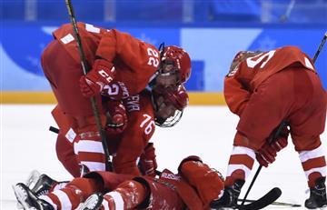 Rusia homenajea a sus atletas olímpicos