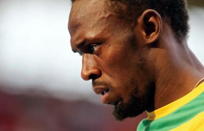 Usaín Bolt. Foto: AFP