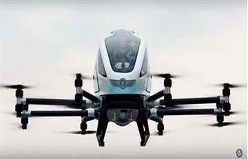 Video: Presentan en Barcelona el primer 'taxi drone' del mundo