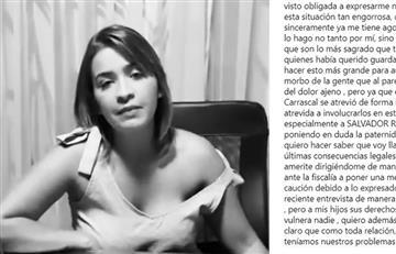 Anny Sarmiento habla y desmiente a su examante de Kvrass