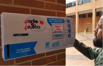 Bogotanos podrán obtener un condón por 500 pesos