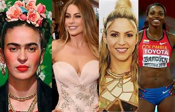 Estas son las mujeres más representativas en Latinoamérica