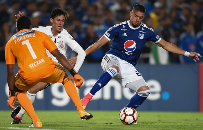 Libertadores: Millonarios empató con Corinthians en el estreno del grupo 7