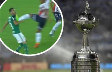 Junior: ¿La patada más agresiva en la historia de la Libertadores?