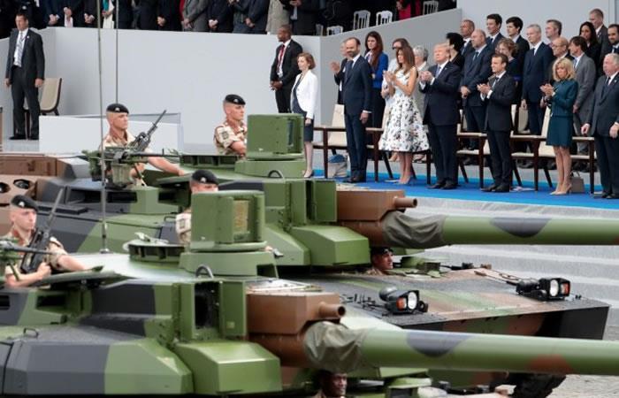Por pedido de Trump, Estados Unidos tendrá ungran desfile militar