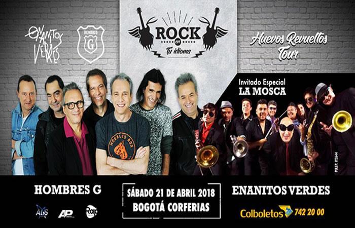 ¡Próximamente!  El rock en español se apoderará de Colombia