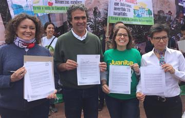 """Angélica Lozano: """"Estamos a un paso de bajarle el salario a los congresistas"""""""