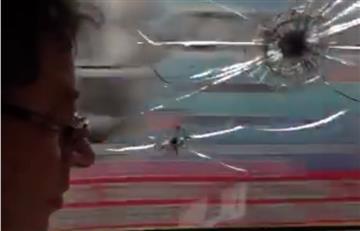 La caravana de Gustavo Petro sufre graves agresiones en Cúcuta