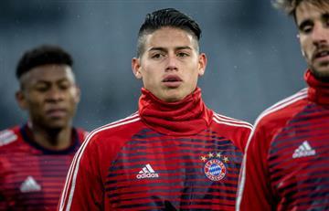 James Rodríguez nominado al mejor gol de febrero en la Bundesliga