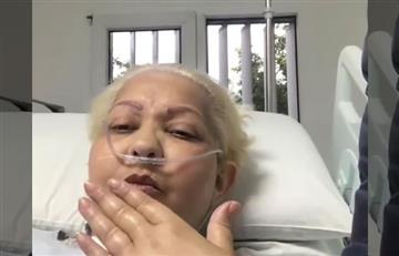 'La Gorda Fabiola' envía mensaje positivo desde la clínica