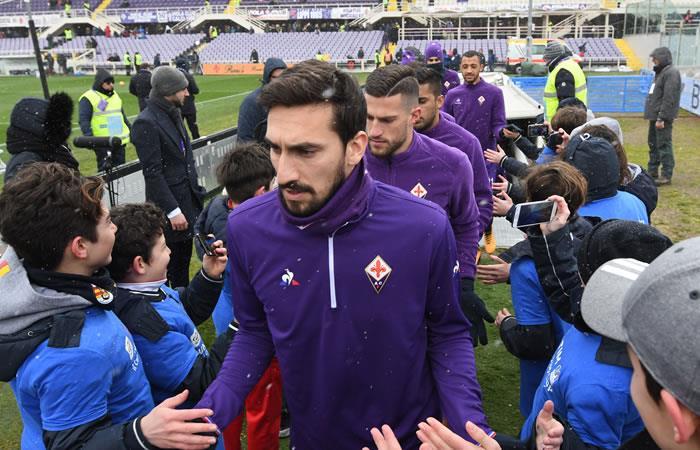 Calcio: Muere el capitán de la Fiorentina Davide Astori