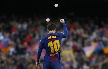 Fútbol español: Messi le abre la ruta al Barça hacia el título de