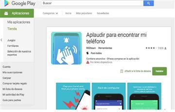 Clap to Find, la app para encontrar tu android por medio de un aplauso