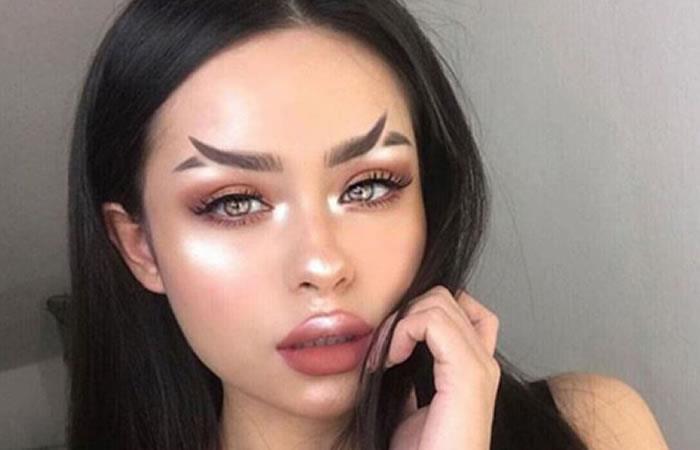 Instagram: Cejas cola de pez, la última tendencia en belleza