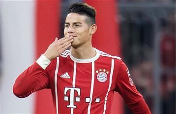 James Rodríguez es galardonado en los premios Oscar del Bayern